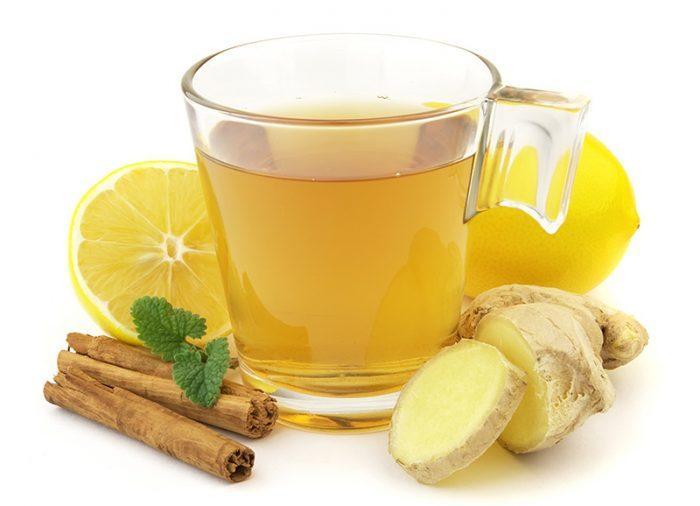 зеленый чай с имбирем и корицей для похудения