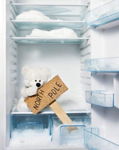 почему намерзает лед на задней стенке холодильника