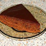 рецепты в пост - шоколадный манник