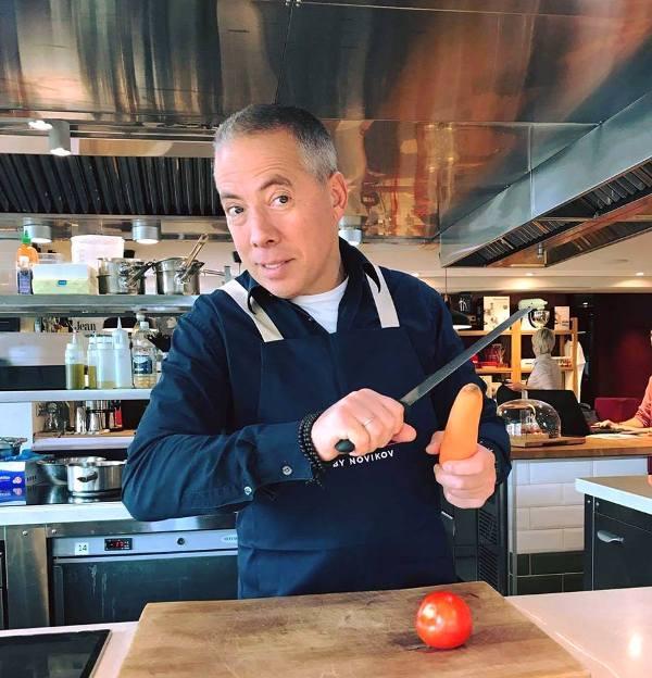 шеф-повар Аркадий Новиков