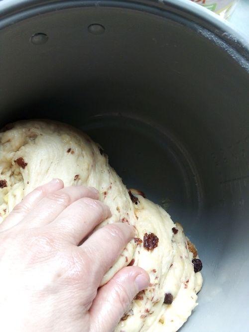готовое тесто для кулича в мультиварке